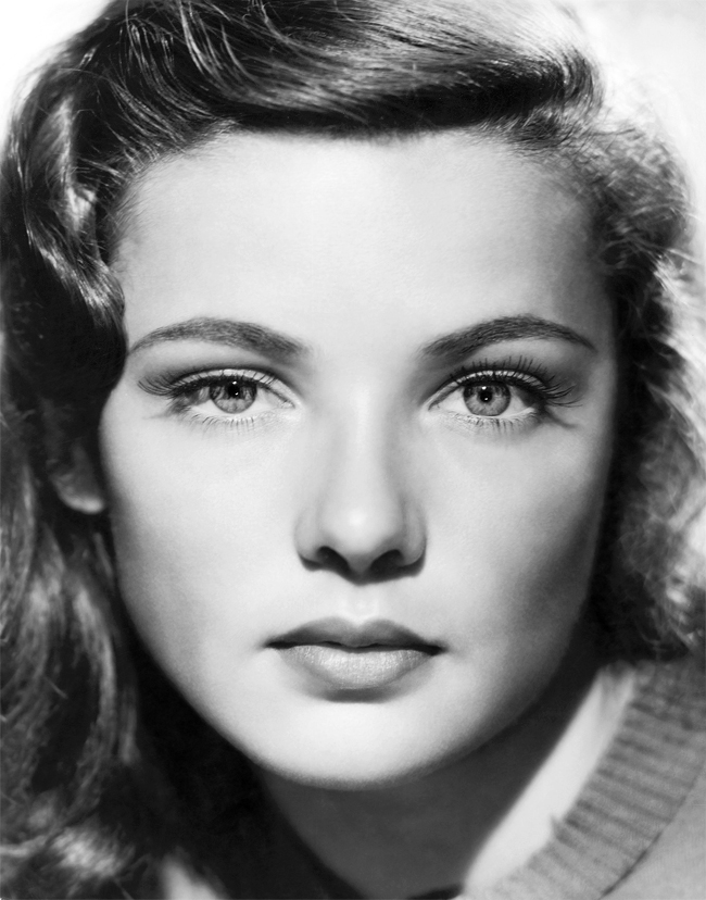 Spotlight: Gene Tierney - Vivien Leigh and Laurence Olivier Christina Aguilera Obituary