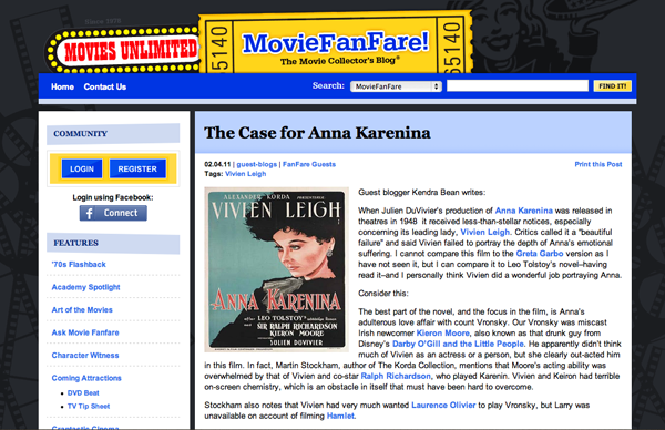 The Case for Anna Karenina