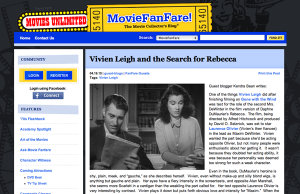 Vivien Leigh and the Search for Rebecca