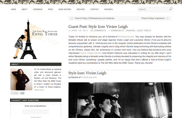 Style Icon: Vivien Leigh