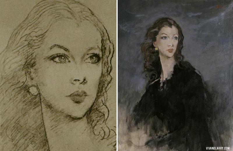 Vivien Leigh by Augustus John