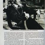 Laurence Olivier Vogue