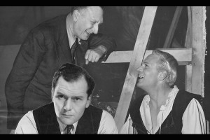 Laurence Olivier with Muir Matheson and William Walton, Hamlet