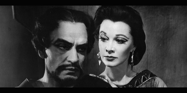 Laurence Olivier and Vivien Leigh in Macbeth