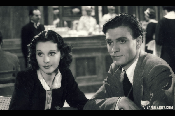 Vivien Leigh and Laurence Olivier in 21 Days Together