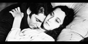 Laurence Olivier and Merle Oberon in Wuthering Heights