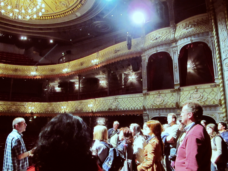 Curtain call at the Old Vic