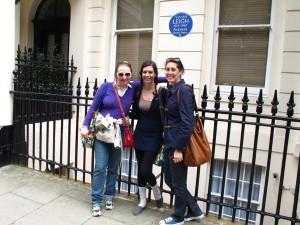 Vivien Leigh 54 Eaton Square London