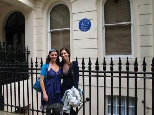 Vivien Leigh at 54 Eaton Square