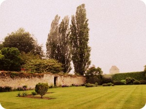 Notley Abbey back yard