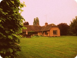 The cottage at Notley Abbey