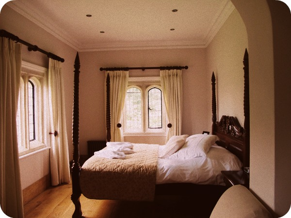 Vivien Leigh's and Laurence Olivier's bedroom