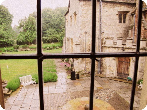 The courtyard at Notley Abbey