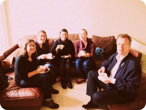 Tea time at Notley Abbey