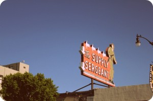 The Supply Sergreant