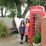 Kendra and Sami in Topsham, Devon