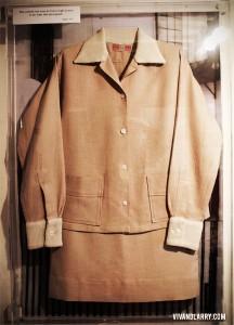 Vivien Leigh suit Topsham Museum