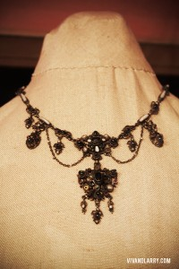 Vivien Leigh necklace at Topsham Museum
