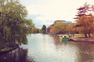 The River Avon and RSC