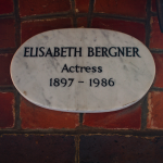 Elizabeth Bergner Golders Green crematorium