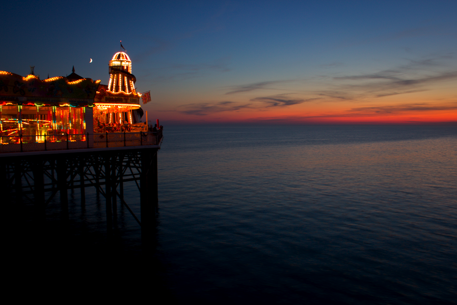 Sunset on Brighton Pier