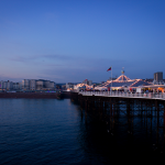 Evening on Brighton Pier
