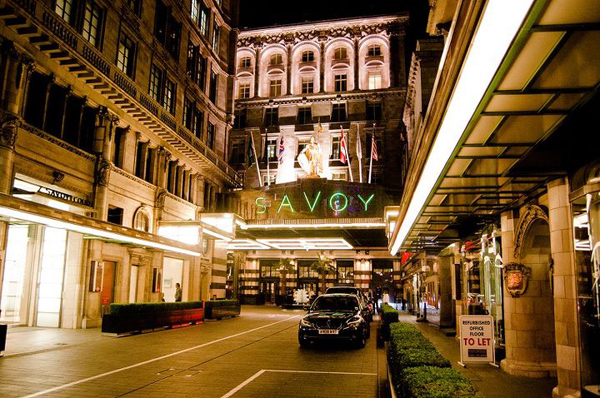 The Savoy Hotel, Strand, London