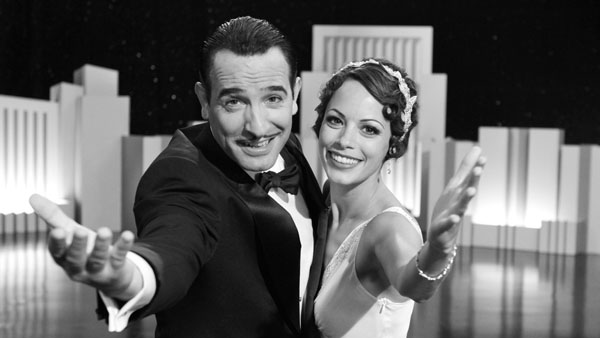 Jean Dujardin and Bernice Bejo in The Artist