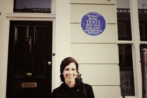 Kendra at Sylvia Plath's