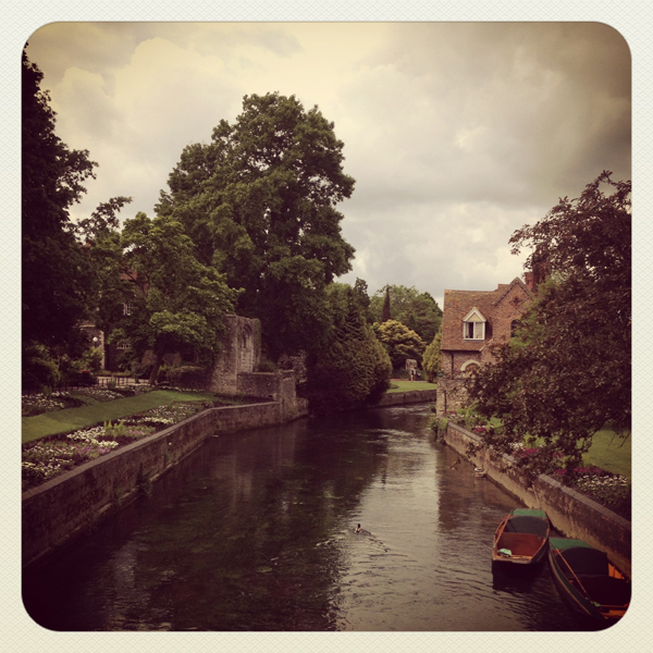 Great Stour river, Canterbury
