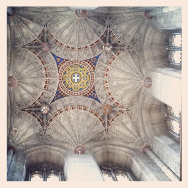 Ceiling in Canterbury Cathedral