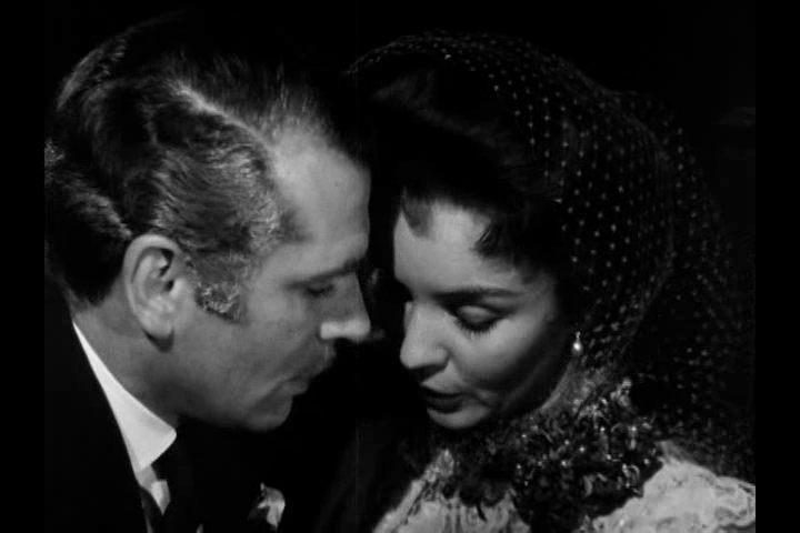 Laurence Olivier and Jennifer Jones in William Wyler's Carrie