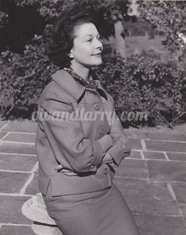 Vivien leigh at Tickerage Mill 1962