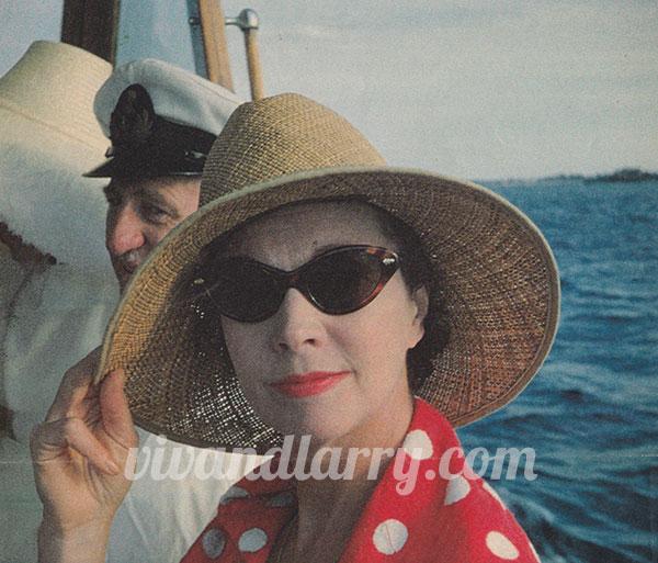 Vivien Leigh at Rottnest Island