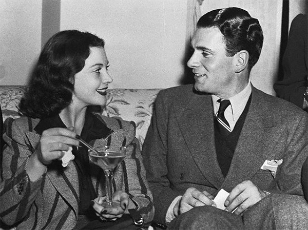 Vivien Leigh and Laurence Olivier 1939