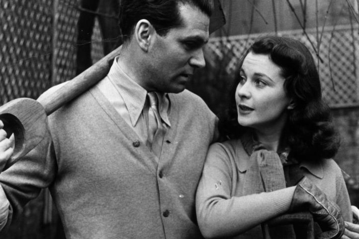 Vivien leigh and Laurence Olivier 1941