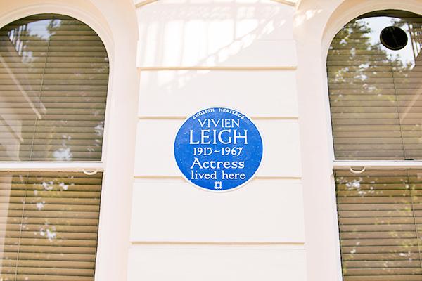 Vivien Leigh 54 Eaton Square