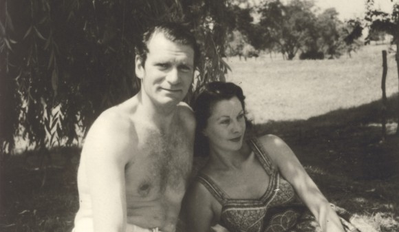 vivien leigh laurence olivier in france