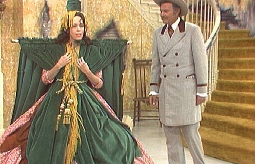 Carol Burnett curtain dres