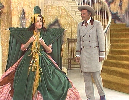 Curtains Ideas carol burnett curtain rod : Costume designer Bob Mackie talks GWTW