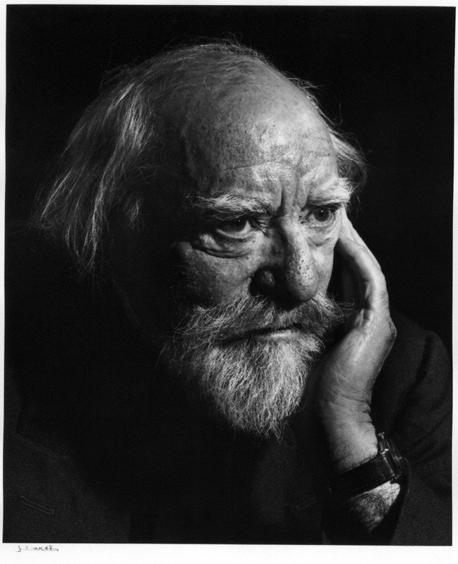 NPG P490(43); Augustus John by Yousuf Karsh