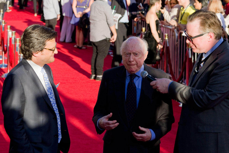Norman Lloyd and Ben Mankiewicz TCM Film Festival