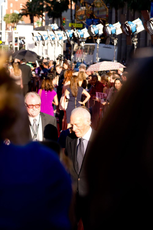 Christopher Plummer at the TCM Film Festival
