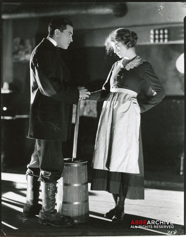 Lillian Gish and Richard Barthelmess
