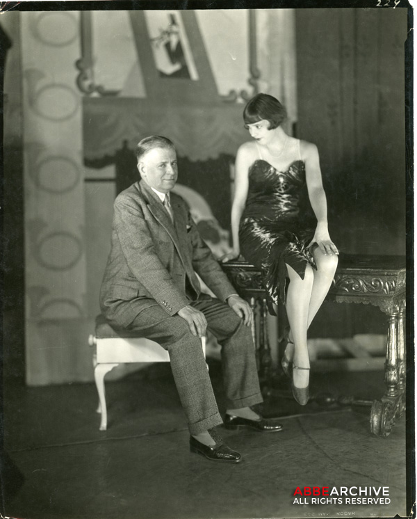 David Belasco and Jessie Matthews