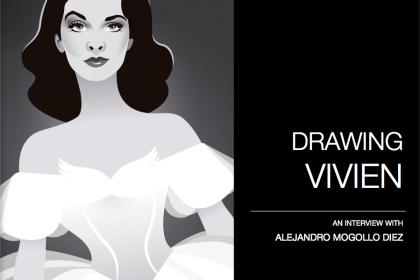 Drawing Vivien Leigh