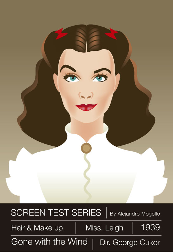 Vivien Leigh Illustration