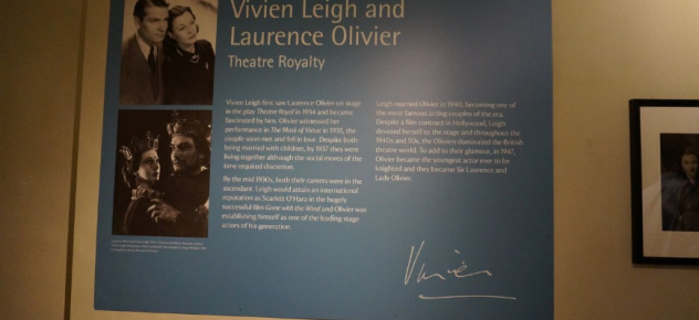 Vivien Leigh exhibition at Nymans