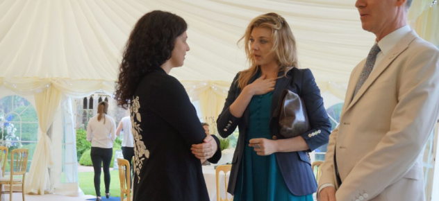 Natalie Dormer and Kendra Bean at Nymans
