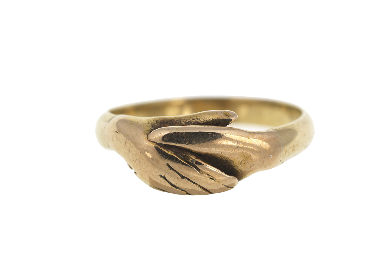 Fede ring belonging to Emma Hamilton